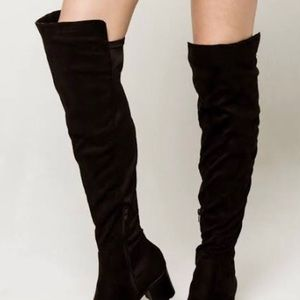 Wild Diva over the knee boot